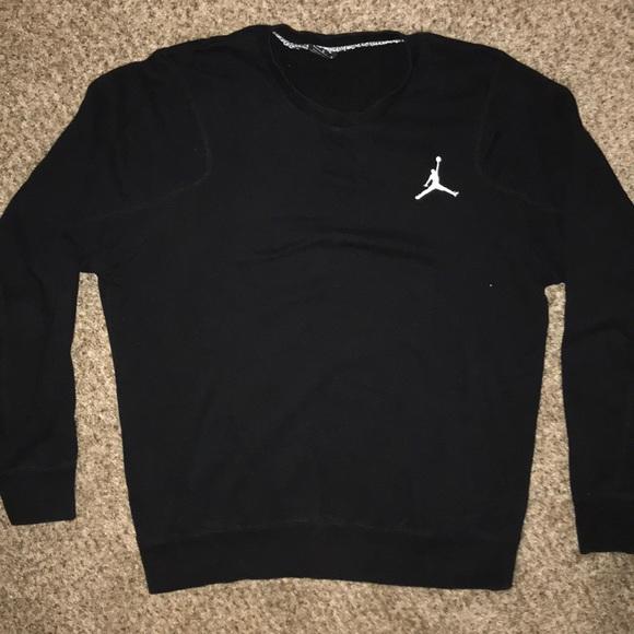 Jordan Brand Crew Neck Sweatshirt Black